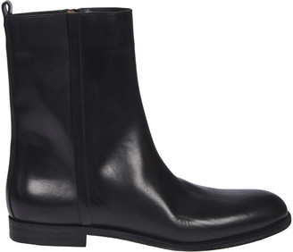 Maison Margiela Side Zipped Ankle Boots