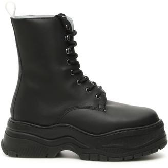 Chiara Ferragni Army Boots