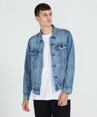 Levi's Denim Trucker Jacket Blue