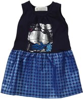 Lucky Jade Nautical Tank Dress (Baby) - Navy-3-6 Months