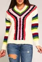 Trendology Multi-Color Furry Sweater