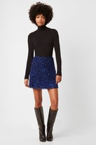 French Connenction Eero Sequin Mini Skirt