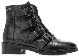 Pepe Jeans Maldon Iman Ankle Boots in Leather