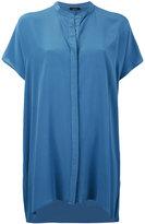 Roberto Collina sheer loose-fit shirt - women - Silk - S