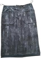Louis Vuitton Mid-Length Silk Skirt