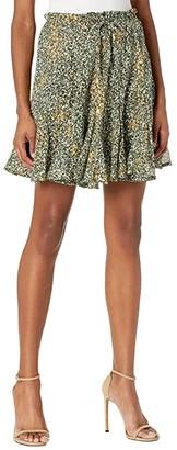 Sabina Musayev Betty Skirt (Olive Print) Women's Skirt