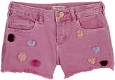 Scotch R'Belle Pom-Pom-Embellished Cutoff Shorts