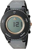 adidas 'Sprung' Quartz Plastic and Cloth Watch, Color:Grey (Model: ADP3250)