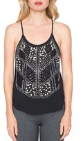 Willow & Clay Women's Embellished Tank