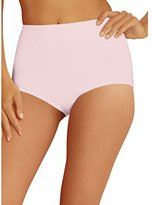 Hanes Women's Light Control Cotton 2 Pack Shaping Brief
