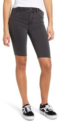 1822 Denim High Waist Bermuda Shorts