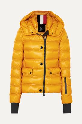 MONCLER GRENOBLE Armotech Quilted Shell Down Jacket - Yellow