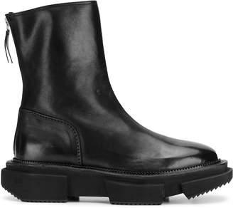 Premiata zip-up cut-out boots