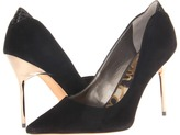 Sam Edelman Danielle (Black Suede) - Footwear
