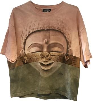Andrea Crews Brown Cotton Top for Women