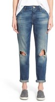 Mavi Jeans Women's 'Ada' Ripped Stretch Boyfriend Jeans