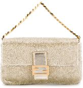 Fendi micro 'Baguette' clutch - women - Goat Skin/Metal (Other) - One Size