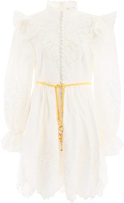 Zimmermann Carnaby Ruffled Dress