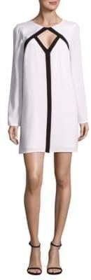 BCBGMAXAZRIA Cut-Out Shift Dress