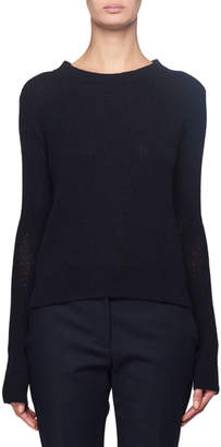 The Row Muriel Cashmere Crewneck Sweater
