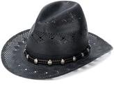 Saint Laurent straw cowboy hat
