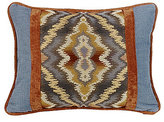 HiEnd Accents Lexington Pieced Tribal & Denim Boudoir Pillow