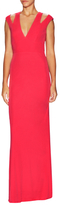ABS by Allen Schwartz Shoulder Cut Out Maxi Dress