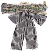 M Missoni Woven Safety Pin Belt w/ Tags