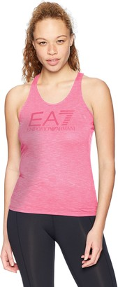Emporio Armani Women's Training Core & Branding Logo Series Tank