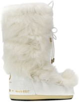 Moon Boot mid-calf tie front boots