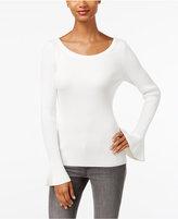 MICHAEL Michael Kors Bell-Sleeve Sweater