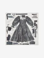 Alexander McQueen Beetled Dress Silk Shawl