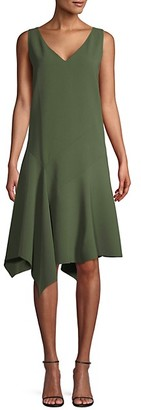 Lafayette 148 New York Asymmetrical Shift Dress