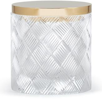 Labrazel Basket Weave Canister