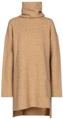 Deveaux Yara wool-blend turtleneck sweater