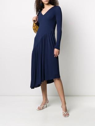 Sies Marjan Asymmetric Knitted Dress