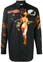Givenchy printed long sleeve shirt