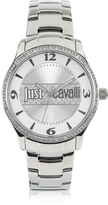 Just Cavalli Huge Collection Silver Dial Stainless Steel Watch