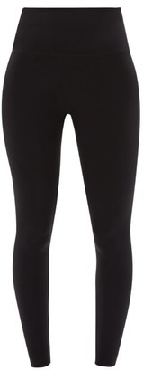 Wone High-rise Stretch-jersey Performance Leggings - Black