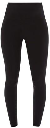 Wone - High-rise Stretch-jersey Performance Leggings - Womens - Black