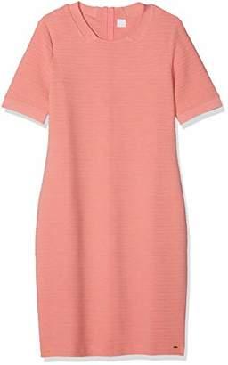 BOSS Women's Deshape Dress, (Light/Pastel Orange 835), Large