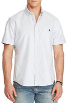 Polo Ralph Lauren Big & Tall Striped Oxford Short-Sleeve Woven Shirt