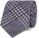 Brunello Cucinelli - 7cm Checked Wool And Silk-blend Tie