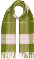 Burberry check print scarf