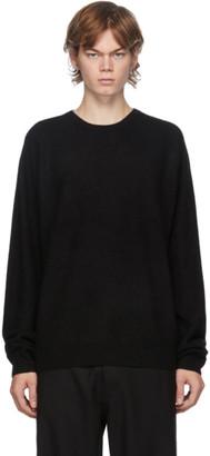Frenckenberger Black Cashmere Boyfriend Sweater