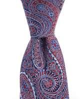Daniel Cremieux Heart Paisley Traditional Silk Tie