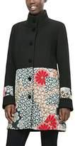 Desigual Women's Abrig_Lola Coat,10 (Manufacturer Size: )