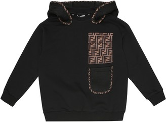 Fendi Kids Cotton sweatshirt