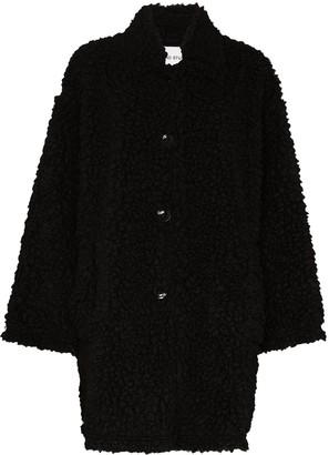 Stand Studio Jacey faux-fur coat