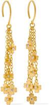 Marie Helene De Taillac Marie-Hélène de Taillac - 22-karat Gold Diamond Earrings - one size